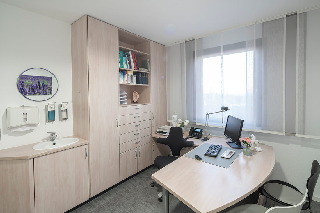 Hausarzt Sillenbuch - Ellinger - einer unserer Beratungs- und Behandlungsräume