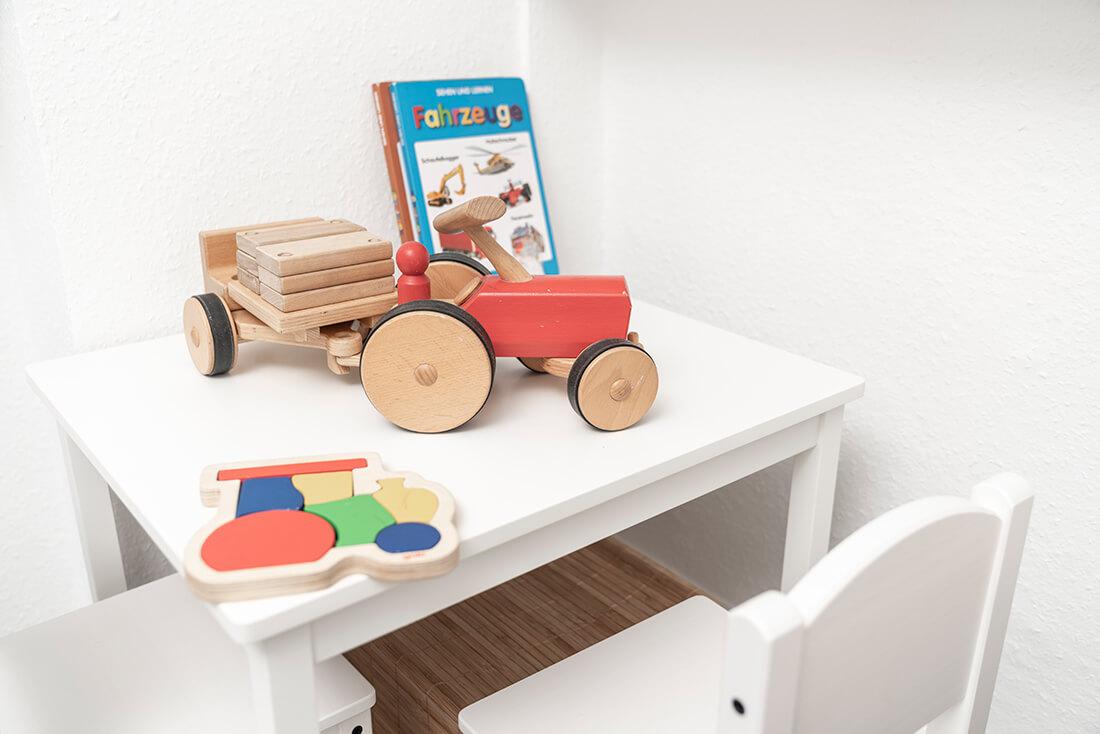 Hausarzt Sillenbuch - Ellinger - Kinderspielecke im Wartezimmer unserer Praxis